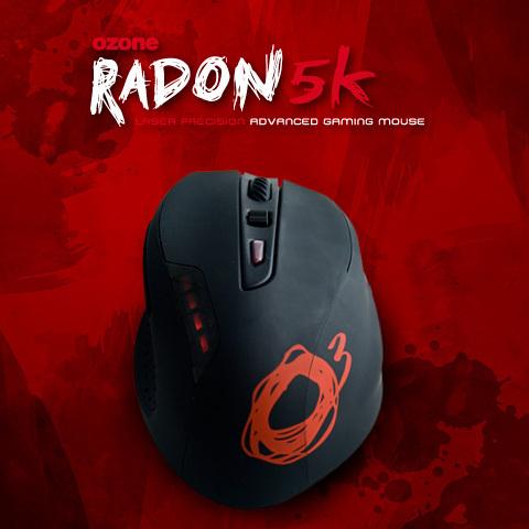 OZONE Radon5K-ゲーミングマウス