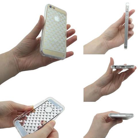 iPhone5用トライアングル柄ケース