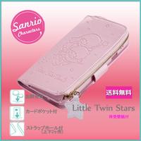 iPhone 6S/6用  SANRIO iCoin.DIARY COVER【リトルツインスターズ】【レターパックプラス送料無料】