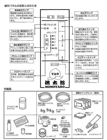 アルカリ電解水生成器 桃太郎