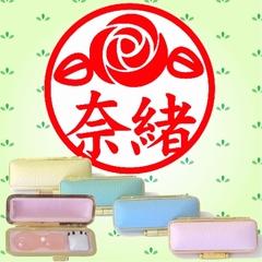 イラスト入デザイン印鑑・ケース入(バラ2)
