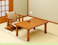 起立補助椅子用 ローテーブル