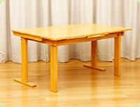 折りたたみテーブル 幅90x長180x高65