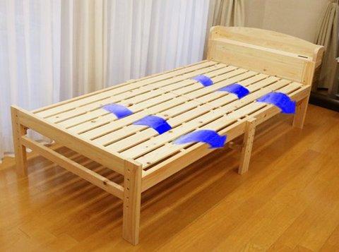 総ひのきベッド