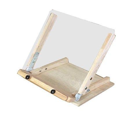 書見台&透明傾斜板付き卓上イ―ゼル
