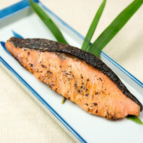 天然秋鮭潮麹漬【2枚入】