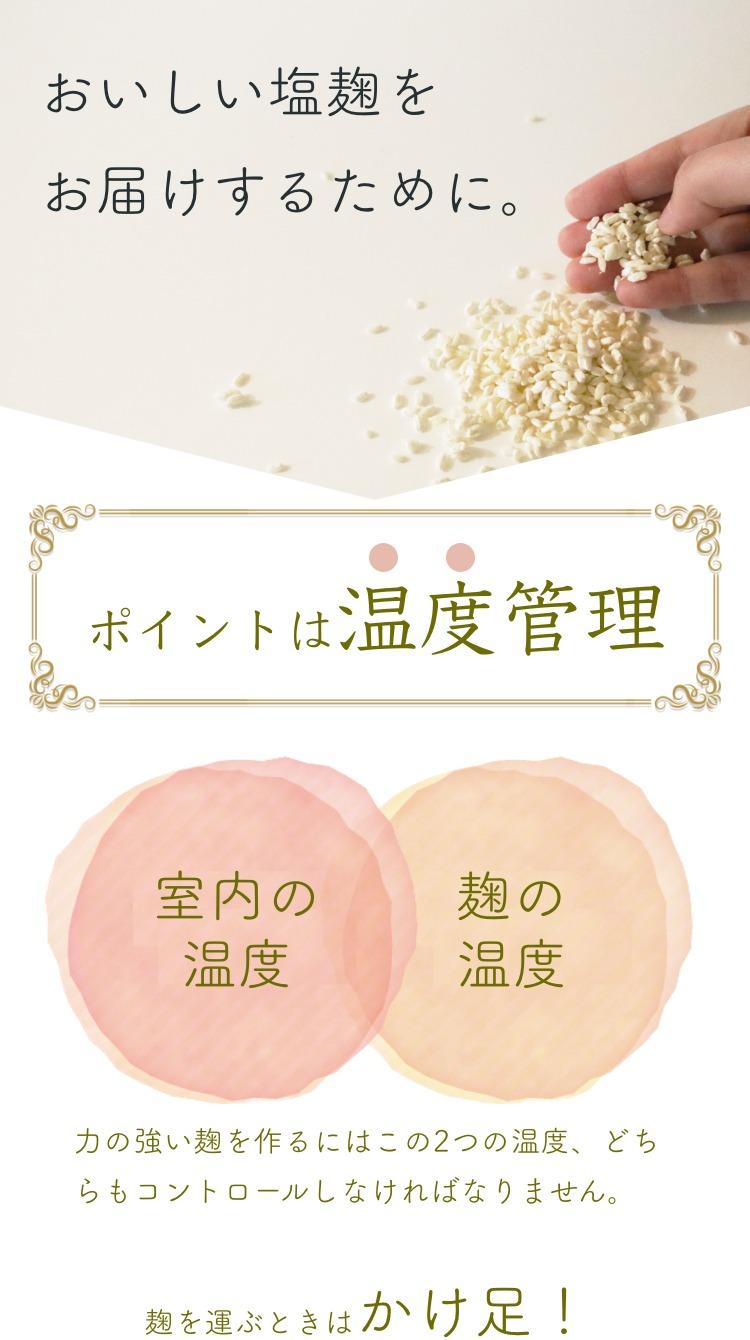 塩麹_温度管理1