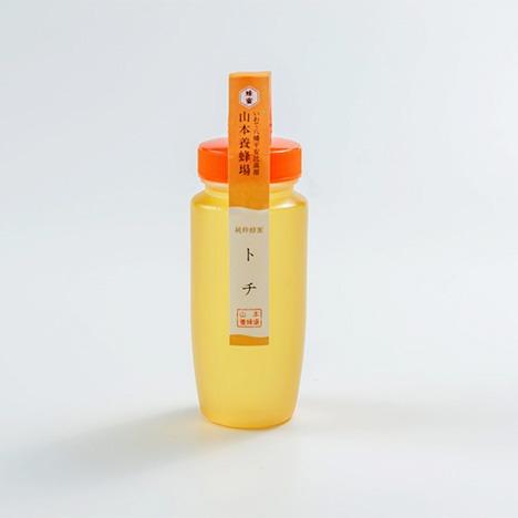 山本養蜂場 純粋蜂蜜 トチ 250g(ボトル入り)