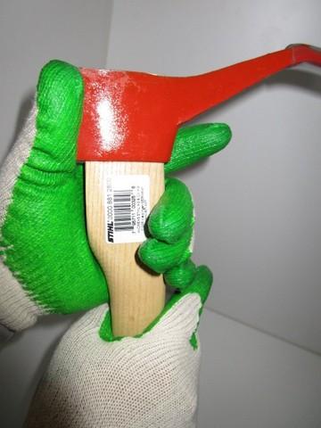 純綿手袋 天然ゴム引手袋 SY359 グリーン 10双パック