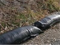 枕土のう袋 耐候性 黒 3年物