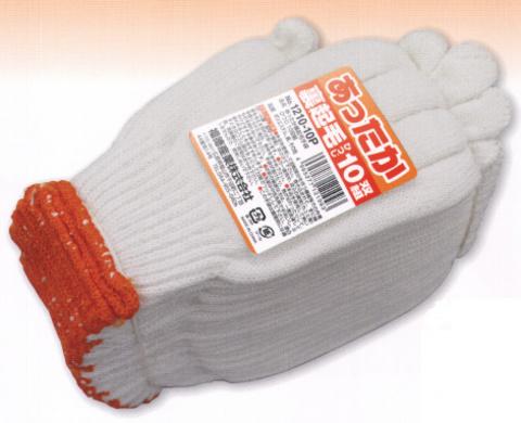 あったか裏起毛手袋 羊 1210-10P 10双