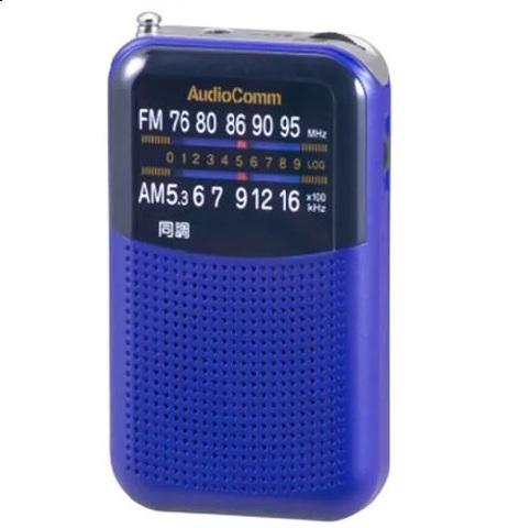 OHM RAD-P125NA ポケットラジオ 07-8954