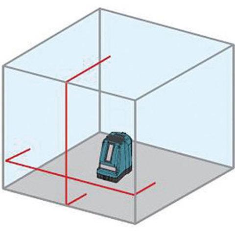 アックスブレーン レーザーワーカー墨出し器 VH‐102(収納ケース付)