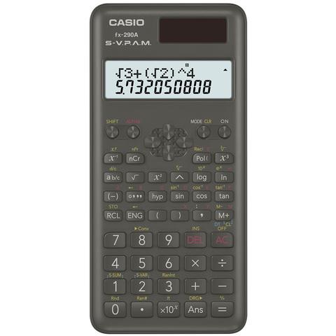カシオ 関数電卓 2行表示 FX‐290A-N