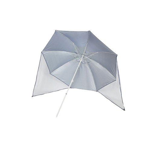 パール フリットUVウイングパラソル 240㎝ BL M-1601