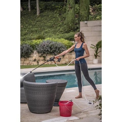 WORX 充電式洗浄ガンセット WG629.3