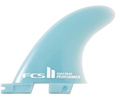 FCS2  PERFORMER  GLASS FLEX  QUAD REAR FINS