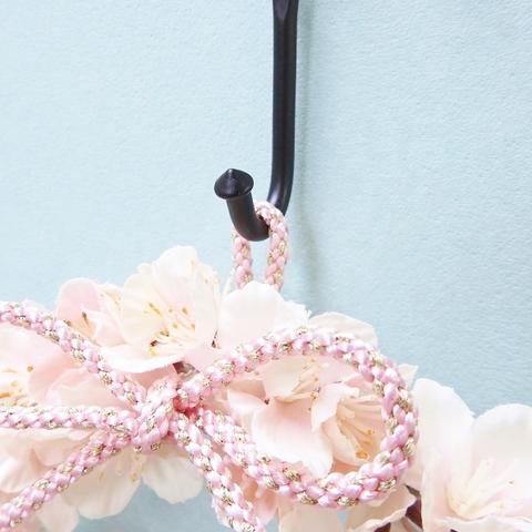 桜リース (和装婚・ウエディング)