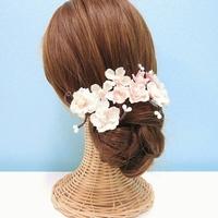 * 【再販×3】【10点セット】髪飾り  桜 *
