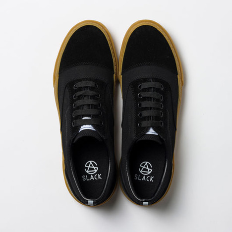 【SLACK FOOTWEAR】RECENT(BLACK/GUM)