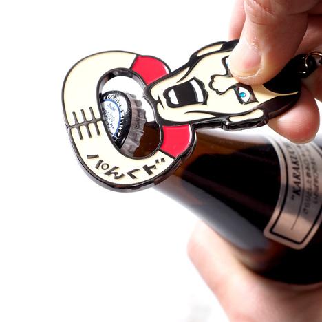 【PUNK DRUNKERS】あいつの栓抜きキーホルダー