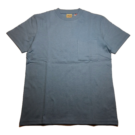 【Goodwear】USAコットン無地ポケットT