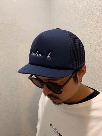 【HARLEM BLUES】harlem b MESH CAP