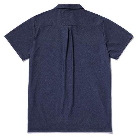 【CLUCT】PRIMEFLEX OPEN COLLOR SHIRT
