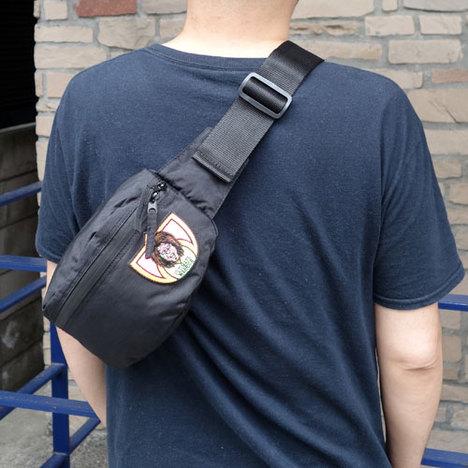 【HAOMING】×ULTIMATE WARRIOR HIP BAG