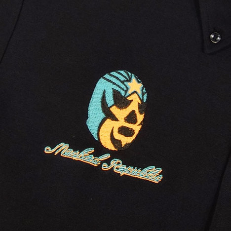 【HAOMING】MASKED REPUBRIC×HAOMING POLO Shirt