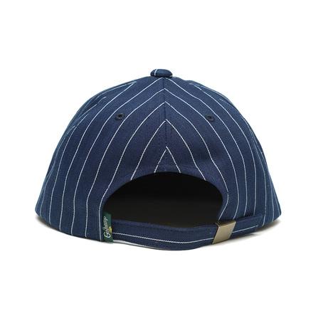 【GO HEMP】GH BASE BALL CAP/PIN STRIPE HERINGBONE