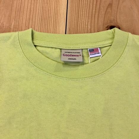 【Goodwear】USAコットン 袖リブポケットワイドロンTEE