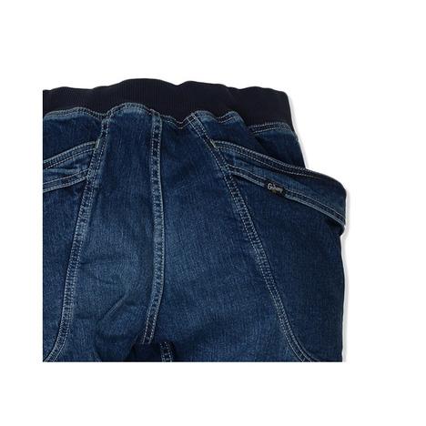 【GO HEMP】VENDOR RIB PANTS/H/C STRECH DENIM USED WASH