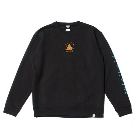 【TOY MACHINE】PYLAMID SECT EMBRO SWEAT CREW NECK