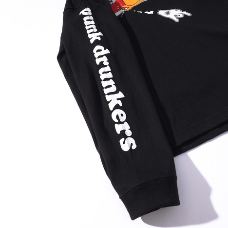 【PUNK DRUNKERS】xTOY MACHINE 仲良し?ロンTEE