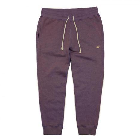 【GO HEMP】SLIM RIB SWEAT PANTS/H/C FLEECE