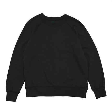 【GO HEMP】CREW PK SWEAT/H/C FLEECE
