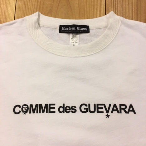 【HARLEM BLUES】COMME des GUEVARA C&S