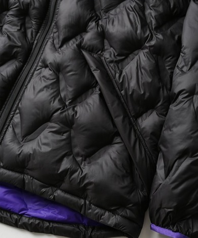 【WOODS】HOODED PUFFY JACKET