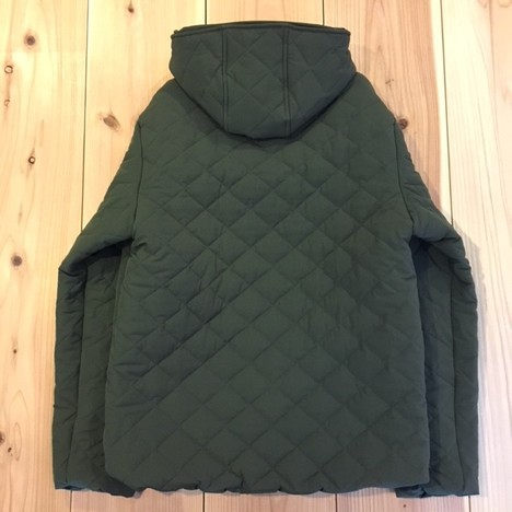 【LiSS】QUILTING HOODED BLOUSON