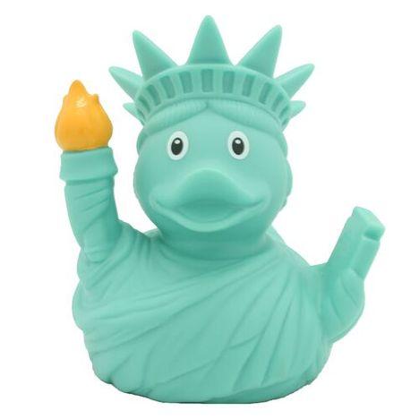 【LILALU】アヒル アメリカ-USA-自由の女神