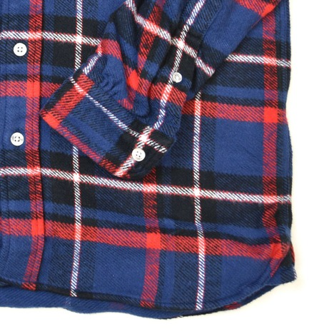 【ONEMINE】ヘビーネルチェックBDシャツ