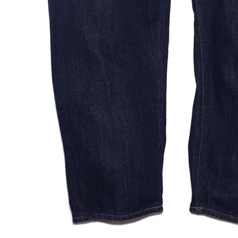 【GOWEST】LOOSE TAPERED PANTS/Washed Loose Drill Denim