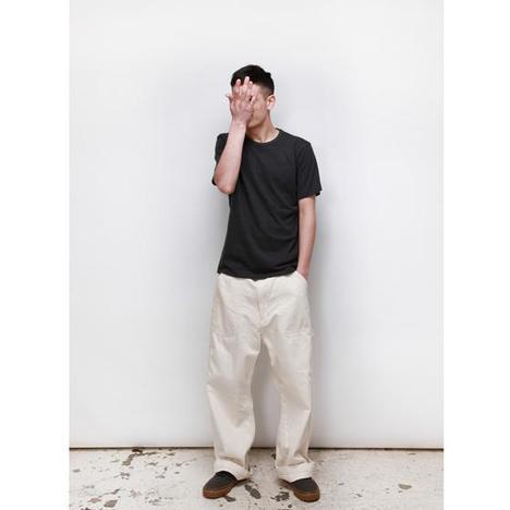 【GOWEST】UNIQUE DIY PANTS/SULFIDE DYE LIGHToz DUCK & 10oz TWILL