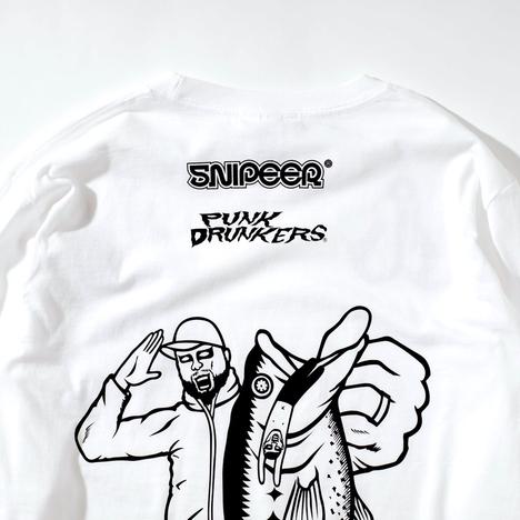 【PUNK DRUNKERS】xSNIPEER ランカーロンTEE