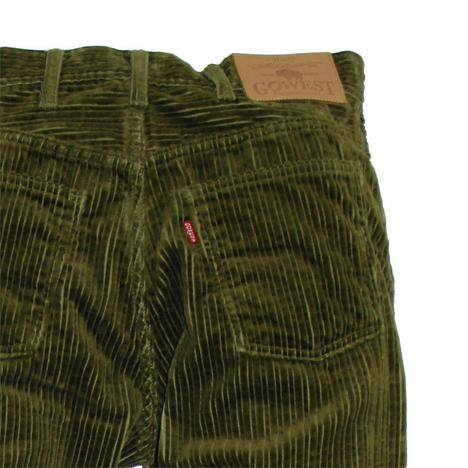 【GOWEST】LOOSE TAPERED PANTS/High Low Air Corduroy