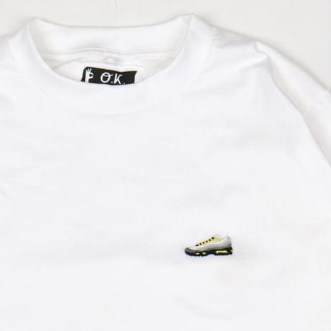 【O.K.】MAX95 L/S TEE(手刺繍)