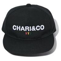 【CHARI&CO】NYC BOLD LOGO SNAPBACK CAP