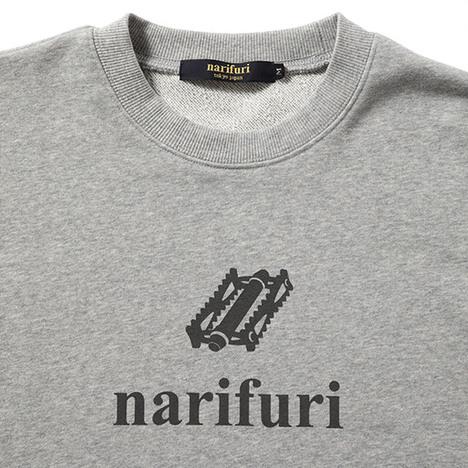【narifuri】スーベニアスウェットシャツ