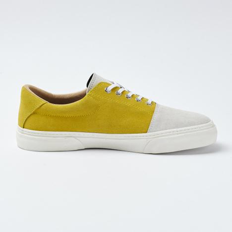 【SLACK FOOTWEAR】DUALOS (GRAY/YELLOW/WHITE)